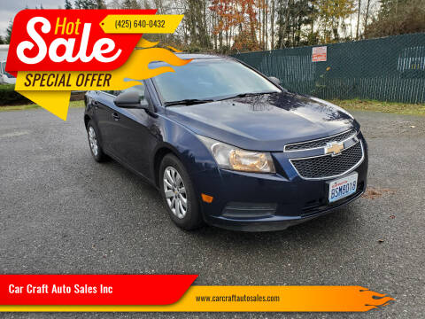 2011 Chevrolet Cruze for sale at Car Craft Auto Sales Inc in Lynnwood WA