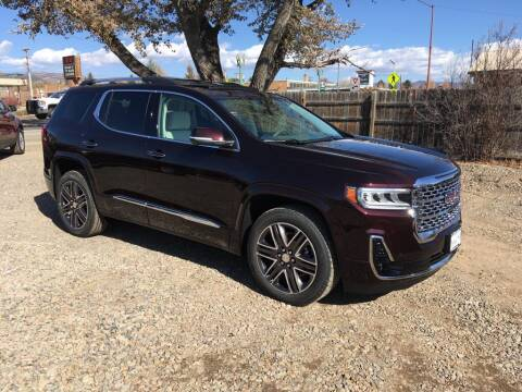 2021 GMC Acadia for sale at Northwest Auto Sales & Service Inc. in Meeker CO
