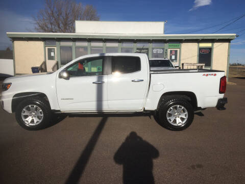 2017 Chevrolet Colorado for sale at A Plus Auto LLC in Great Falls MT