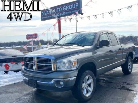 2007 Dodge Ram Pickup 1500 for sale at Divan Auto Group in Feasterville PA