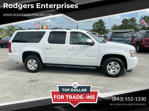 2011 Chevrolet Suburban for sale at Rodgers Enterprises in North Charleston SC