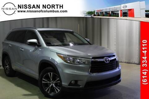 2016 Toyota Highlander for sale at Auto Center of Columbus in Columbus OH