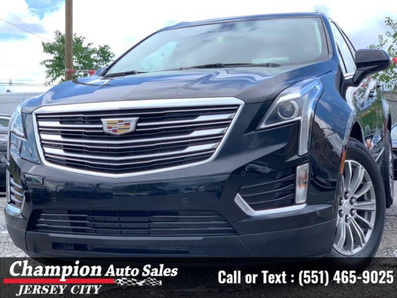 2017 Cadillac XT5 for sale at CHAMPION AUTO SALES OF JERSEY CITY in Jersey City NJ