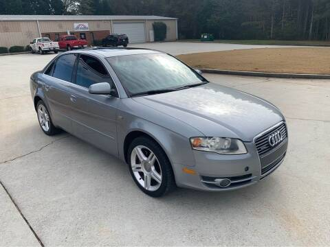 2006 Audi A4 for sale at Two Brothers Auto Sales in Loganville GA