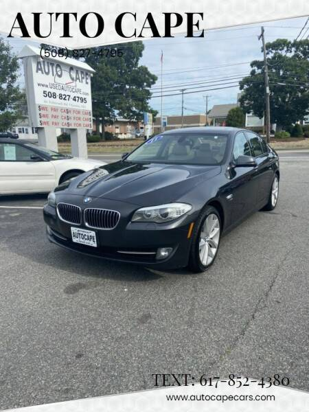 2011 BMW 5 Series for sale at Auto Cape in Hyannis MA
