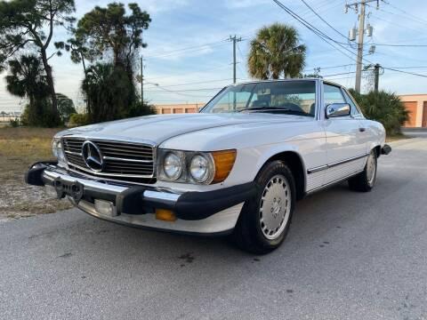1988 Mercedes-Benz 560-Class for sale at American Classics Autotrader LLC in Pompano Beach FL