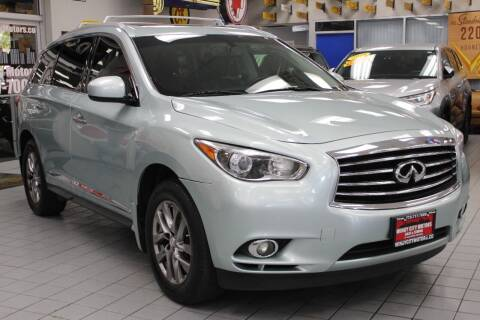 2014 Infiniti QX60 for sale at Windy City Motors in Chicago IL