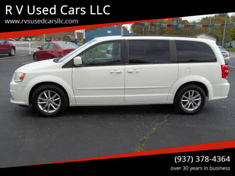 2013 Dodge Grand Caravan for sale at R V Used Cars LLC in Georgetown OH
