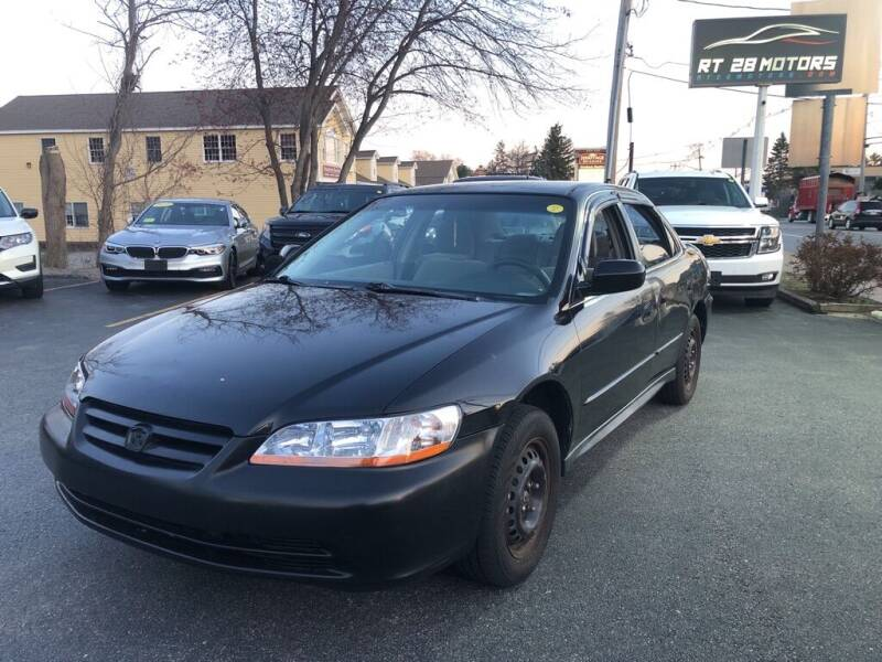 2001 Honda Accord for sale at RT28 Motors in North Reading MA