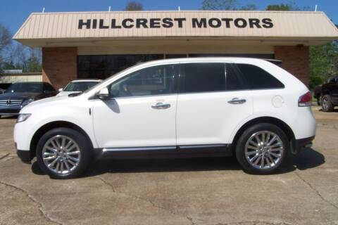 2012 Lincoln MKX for sale at HILLCREST MOTORS LLC in Byram MS