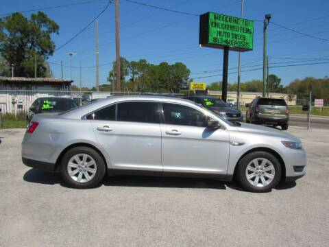2013 Ford Taurus for sale at Checkered Flag Auto Sales EAST in Lakeland FL