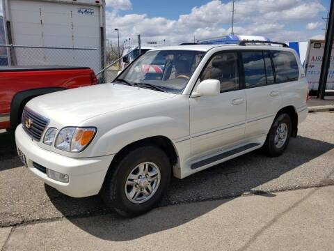 2001 Lexus LX 470 for sale at CFN Auto Sales in West Fargo ND