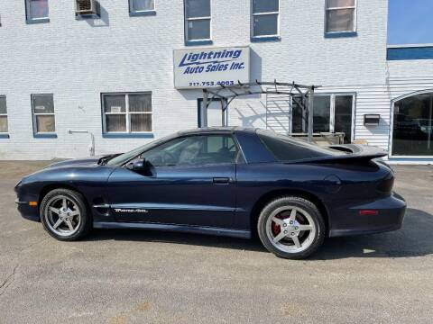 1999 Pontiac Firebird for sale at Lightning Auto Sales in Springfield IL
