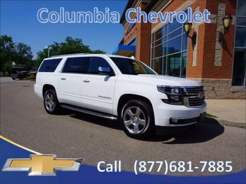 2016 Chevrolet Suburban for sale at COLUMBIA CHEVROLET in Cincinnati OH