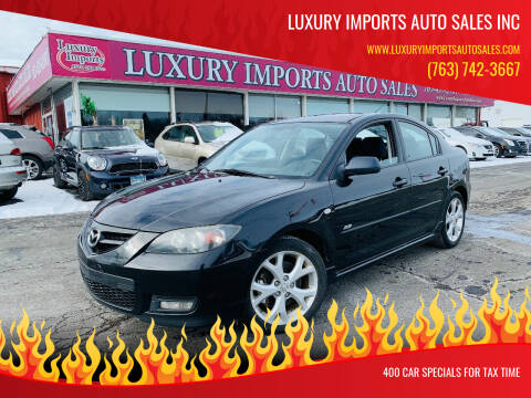 2007 Mazda MAZDA3 for sale at LUXURY IMPORTS AUTO SALES INC in North Branch MN