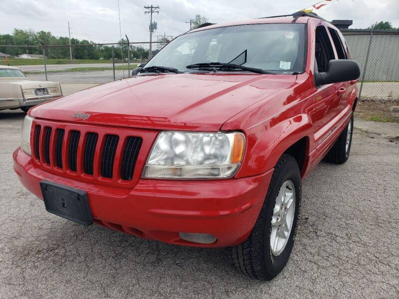 2000 Jeep Grand Cherokee for sale at BBC Motors INC in Fenton MO
