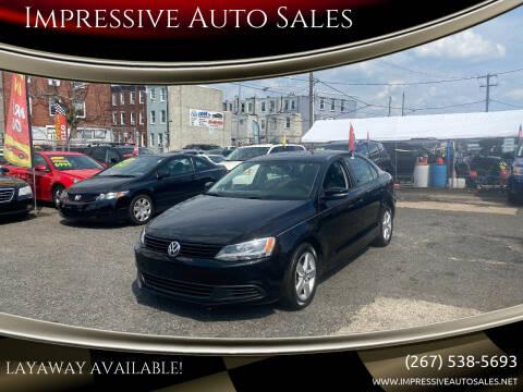2012 Volkswagen Jetta for sale at Impressive Auto Sales in Philadelphia PA