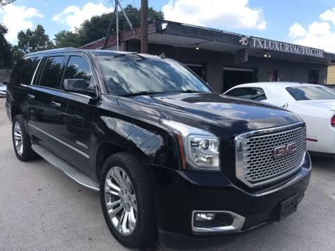 2015 GMC Yukon XL for sale at Texas Luxury Auto in Houston TX
