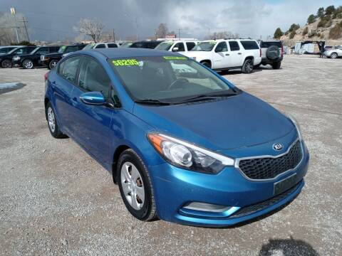 2015 Kia Forte for sale at Canyon View Auto Sales in Cedar City UT