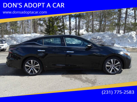2020 Nissan Maxima for sale at DON'S ADOPT A CAR in Cadillac MI