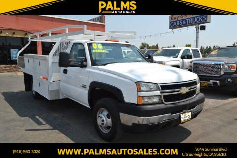 2006 Chevrolet Silverado 3500 for sale at Palms Auto Sales in Citrus Heights CA