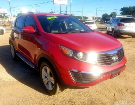 2013 Kia Sportage for sale at Dorsey Auto Sales in Tyler TX