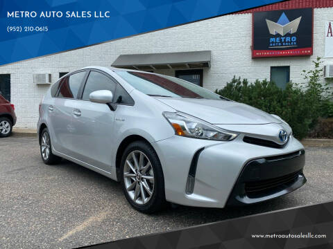 2017 Toyota Prius v for sale at METRO AUTO SALES LLC in Blaine MN