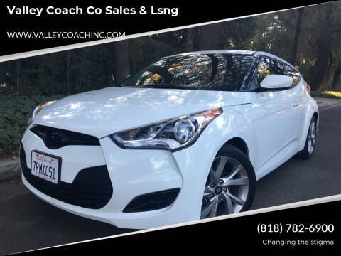 2016 Hyundai Veloster for sale at Valley Coach Co Sales & Lsng in Van Nuys CA