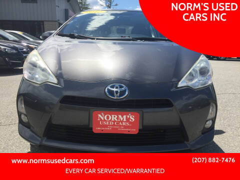 2012 Toyota Prius c for sale at NORM'S USED CARS INC in Wiscasset ME