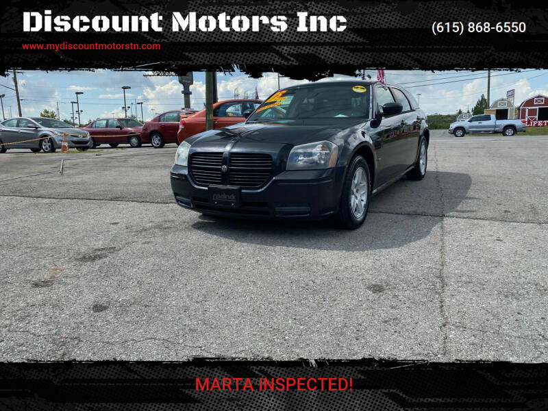 2005 Dodge Magnum for sale at Discount Motors Inc in Madison TN