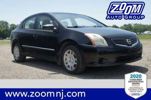 2010 Nissan Sentra for sale at Zoom Auto Group in Parsippany NJ