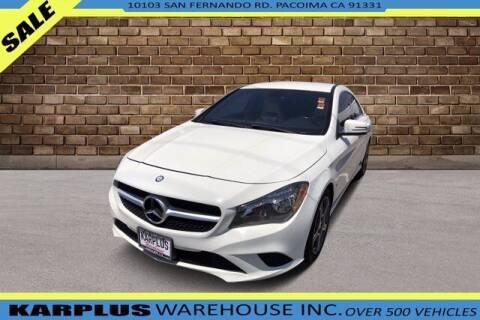 2014 Mercedes-Benz CLA for sale at Karplus Warehouse in Pacoima CA