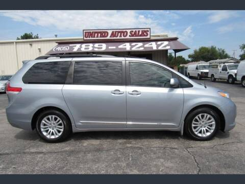 2013 Toyota Sienna for sale at United Auto Sales in Oklahoma City OK
