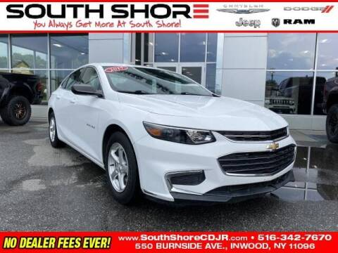 2017 Chevrolet Malibu for sale at South Shore Chrysler Dodge Jeep Ram in Inwood NY