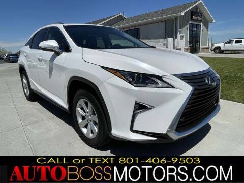 2016 Lexus RX 350 for sale at Auto Boss in Woods Cross UT