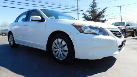 2011 Honda Accord for sale at Action Automotive Service LLC in Hudson NY