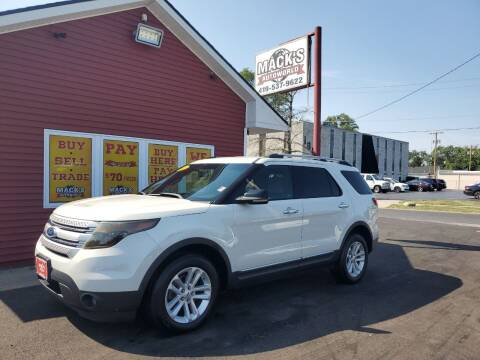 2012 Ford Explorer for sale at Mack's Autoworld in Toledo OH
