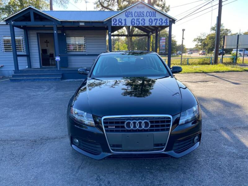 2011 Audi A4 for sale at QUALITY PREOWNED AUTO in Houston TX