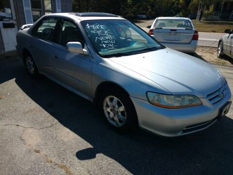2002 Honda Accord for sale at Auto Brokers of Milford in Milford NH