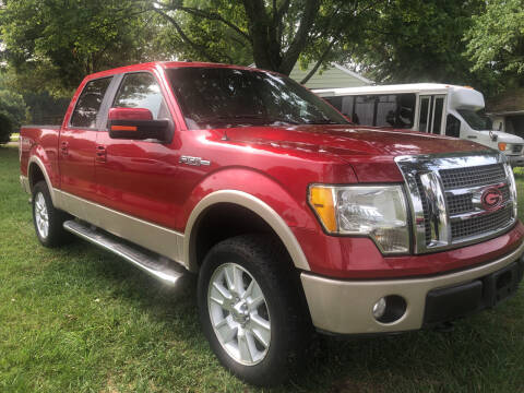 2010 Ford F-150 for sale at Creekside Automotive in Lexington NC