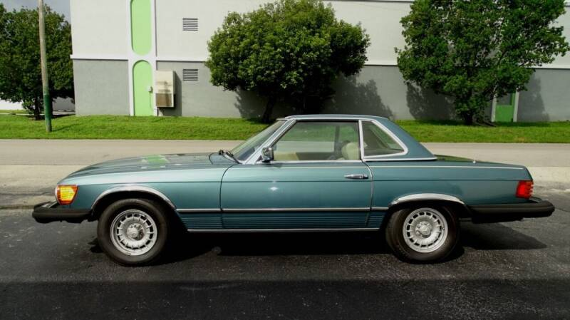 1980 Mercedes-Benz 450 SL for sale at Premier Luxury Cars in Oakland Park FL