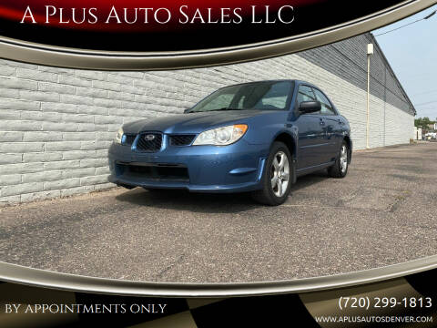 2007 Subaru Impreza for sale at A Plus Auto Sales LLC in Denver CO