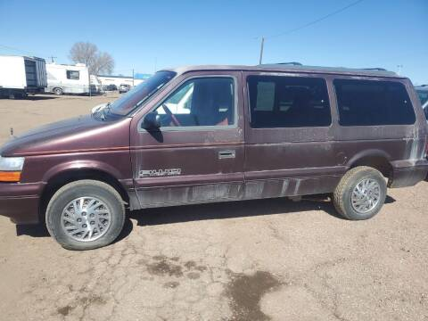 1994 Dodge Grand Caravan for sale at PYRAMID MOTORS - Fountain Lot in Fountain CO