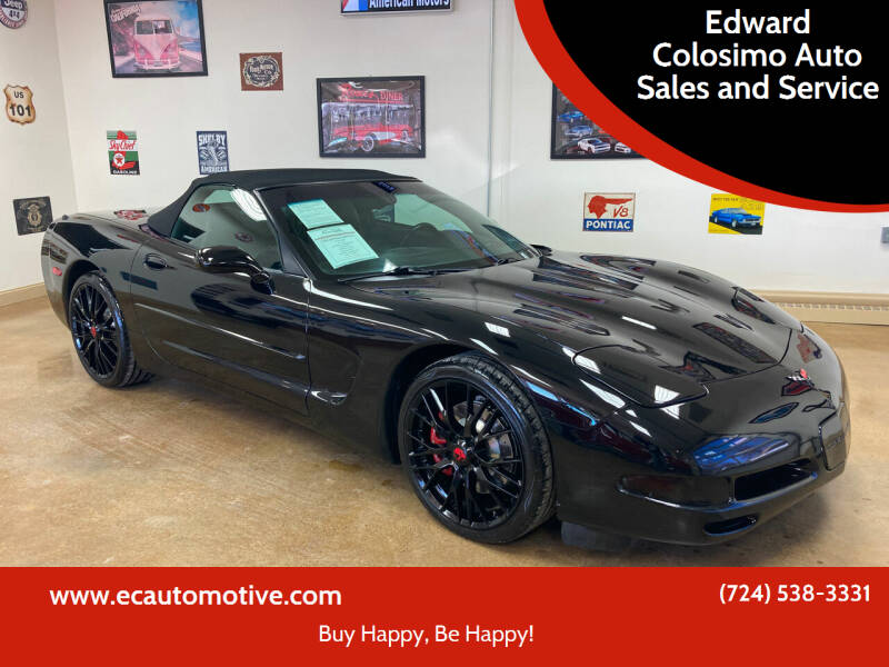 2000 Chevrolet Corvette for sale at Edward Colosimo Auto Sales and Service in Evans City PA