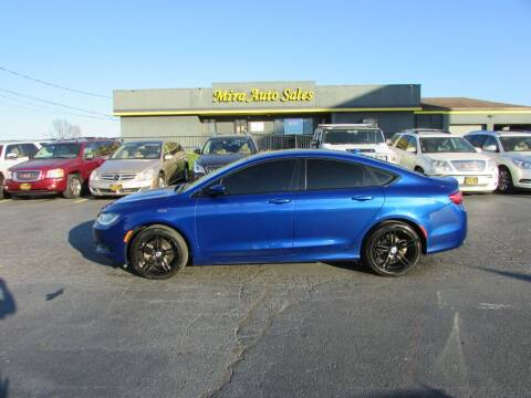 2015 Chrysler 200 for sale at MIRA AUTO SALES in Cincinnati OH