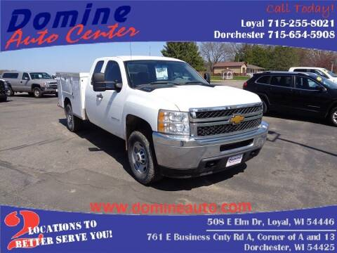 2013 Chevrolet Silverado 2500HD for sale at Domine Auto Center in Loyal WI