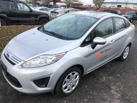 2013 Ford Fiesta for sale at Blue Line Auto Group in Portland OR
