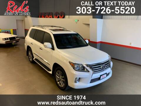 2015 Lexus LX 570 for sale at Red's Auto and Truck in Longmont CO