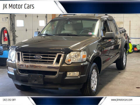 2008 Ford Explorer Sport Trac for sale at JK Motor Cars in Pittsburgh PA