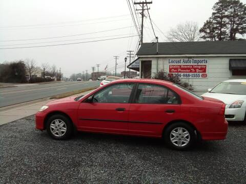 2005 Honda Civic for sale at Locust Auto Imports in Locust NC